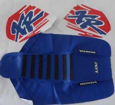 Honda XR600R XR600 R XR 600 R, KIT Tank decals & Seat Cover GRIPPER graphics