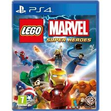 Lego Marvel Super Heroes Game PS4 - Brand New!