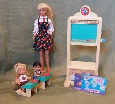 Teacher Barbie w/Students & Accessories Set 1995 #13914 No Box