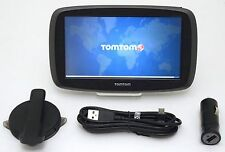NEW TomTom GO 60S 60-S Portable GPS Car Navigation 3D LIFETIME Maps USA/CAN/MEX