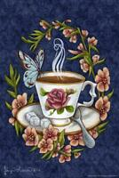 Tea and Company by Brigid Ashwood Art Print Mural Poster 36x54 inch
