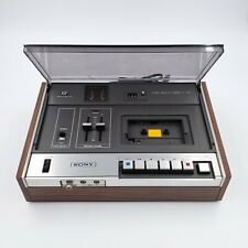 Sony TC-129 Stereo Tapecorder Superscope Cassette Recorder. MINT! FULLY TESTED!