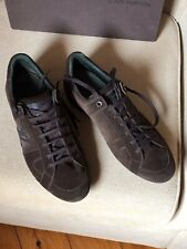Louis Vuitton Sneakers Men's Suede Leather