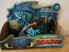 "How To Train Your Dragon HICCUP & TOOTHLESS 7"" Action Figure - Blue Varient"