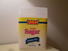 Stay Fresh Pure Sugar Cotainer 5lb Capacity. 8x6x4.5''  New.