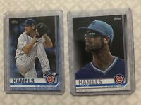 Cole Hamels 2019 Topps Series 2 Short Print And Fathers Day Card 33/50