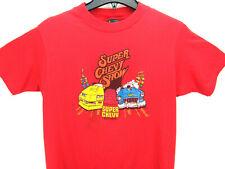 Vintage 80's Super Chevy Show Men's Size Large T Shirt Hot Rod Single Stitch