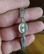 Vintage Ladies Bulova 23 working Swiss watch rolled gold plate