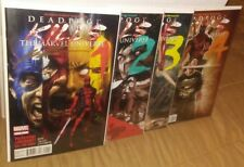 Deadpool Kills the Marvel Universe 1-4 SIGNED by Liefeld complete run set lot 2