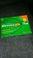 Berocca Vitamins & Minerals - Orange Flavour [45 x Effervescent Tablets]