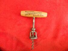 Wm J. Lemp Brewing Company St. Louis, U.S.A. Vintage Corkscrew