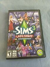 The Sims 3 Late Night Expansion Pack Original Inserts Included PC Game EA