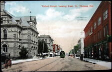 Canada ~ 1900's St. Thomas Ontario ~ Talbot Street Looking East ~ Anderson Co.