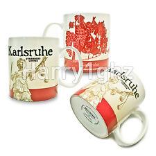 ▓#▓ Starbucks City Mug Icon KARLSRUHE * Germany Tasse 16oz NEW with SKU  ▓#▓