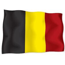 "BELGIUM Belgian Flag car bumper sticker decal 6"" x 4"""