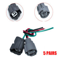 For Honda Acura Civic Prelude 5 Sets Solenoid & Oil Pressure Switch Connector