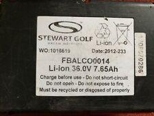 Stewart Golf trolley F1 lithium golf battery