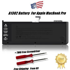 """OEM New A1382 Battery for Apple MacBook Pro Unibody 15"""" A1286 2011 2012 77.5Wh"""