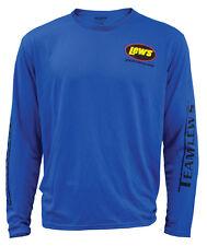 Lew's Lews Blue Large Micro Fiber Shirt NEW
