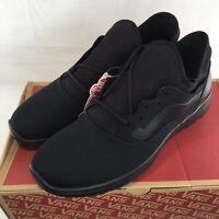 VANS ISO ROUTE STAPLE Black Shoes Men 11.5 13 Ultracush Lite Skateboarding NEW