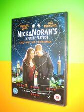 Nick And Norah's Infinite Playlist (DVD 2009); Michael Cera, New Sealed FREEPOST