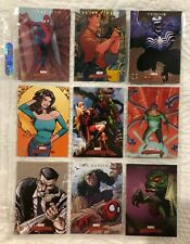 Marvel Masterpieces 2008 Spider-Man Avengers Marvel Heroines Foil X-Men Knights