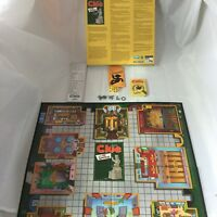 The Simpsons Clue Board Game 2nd Edition Replacement Parts Incomplete