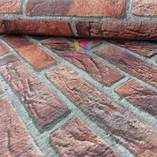 Erismann House Brick Wallpaper Double Embossed Realistic Textured Motif 4303-1