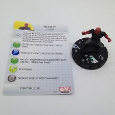 Heroclix Avengers Assemble set Mettle #007 Common figure w/card!