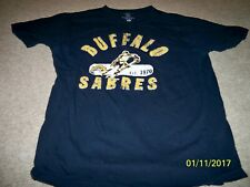 MEN'S SMALL NHL OLD TIME HOCKEY BUFFALO SABRES T-SHIRT!