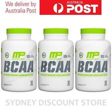Lowest Price! Muscle Pharm BCAA 3:1:2 240 Capsules x 3 bottles