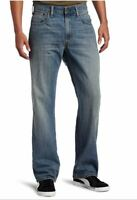 GENUINE LEVIS 569 Loose Straight Fit Mens Blue Jean Rugged Blue BNWT RELAXED FIT