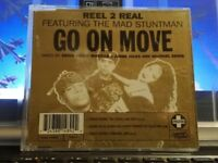 REEL 2 REAL feat.THE  MAD STUNTMAN  - GO ON MOVE   3 versioni - CDs slim case -