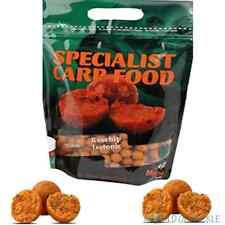 Mistral Baits 1kg Rosehip Isotonic Bag 15mm Instant Carp Food Range Boilies