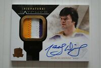 10-11 THE CUP SIGNATURE PATCHES of MARCEL DIONNE #34/35