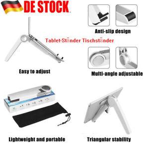 Tablet-Ständer Tischständer Handyhalterung Verstellbar für Notebook Mac iPad DE