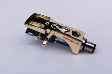 Gold Headshell, cartridge & needle  for RELOOP RP 6000 Mk6, RP 7000, RP 8000