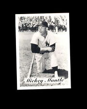 1996 Topps Mickey's Team Info Card #NNO Mickey Mantle Yankees
