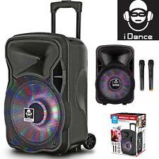 iDance GROOVE420 Portable Bluetooth Speaker - Black