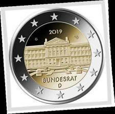 2 EURO *** Allemagne 2019 Duitsland *** BUNDESRAT *** ADFGJ !!!