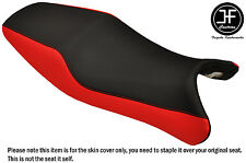 STYLE 2 RED BLACK VINYL CUSTOM FITS HONDA CBR 1100 XX SUPER BLACKBIRD SEAT COVER