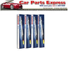 FIAT GRANDE PUNTO 1.9D SPORTING BOSCH Heater Glow Plug Set 2006 -  2009 Set of 4