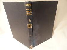 Weaving  Book Vol 12 Woolen Worsted Warp Preparation Weaving 1905