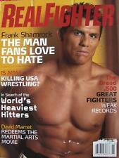 2007 REAL FIGHTER FRANK SHAMROCK DAVID MAMET MIXED MARTIAL ARTS JIU-JITSU KARATE