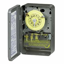 Intermatic 208-277-Volt DPST 24 Hour Mechanical Time Switch T104