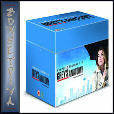GREYS ANATOMY - COMPLETE SEASONS 1 2 3 4 5 6 7 8 9 10 11 & 12  *BRAND NEW DVD **