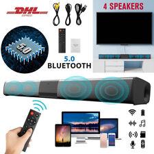 Bluetooth Soundbar Subwoofer TV Sound System Heimkino Lautsprecher DHL