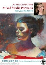 Acrylic Painting Mixed Media Portraits with Jean Pederson [DVD]