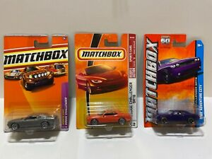 Matchbox Dodge Challenger Lot of 3 - New in Packages!