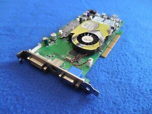 nvidia e-GeForce FX5600 uLTRA 128MB AGP VGA DVI TV-Out  Video Graphics Card